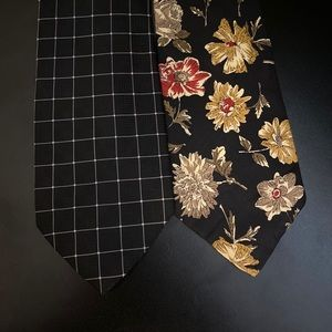 Claiborne Set of 2 Men's Ties - New!
